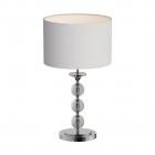 Настольная лампа Zuma Line Rea RLT93163-1W Хром, Белый, Стекло