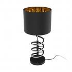 Настольная лампа Zuma Line Tina TL180515-2 Черная