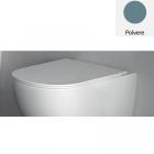 Сидение для унитаза slim softclose Nic Design Pin 005 712 057 матовый, Polvere