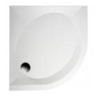 Душевой поддон из литого мрамора Fancy Marble Altair 800x800, R550 + ножки + панель + сифон