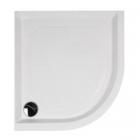Душевой поддон из литого мрамора Fancy Marble Altair 1000x1000, R550 60105501 + ножки + панель + сифон