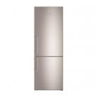Двухкамерный холодильник с нижней морозилкой Liebherr CNef 5735 (A++) серебристый