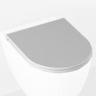 Сидение для унитаза softclose Isvea Infinity 40KF0201I-S матовое белое