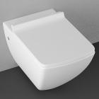 Подвесной безободковый унитаз Isvea Purita CleanWash 10PL02007|White белый
