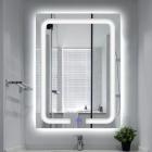 Смарт-зеркало с LED-подсветкой и часами Dusel DE-M3001 60x80