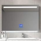 Смарт-зеркало с LED-подсветкой и часами Dusel DE-M3021 100х75