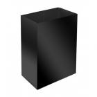 Урна для мусора 60 л ATMA S-LINE, M-160Black, металл черный, напольная