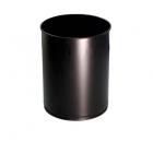 Урна для мусора 12 л АТМА R-LINE, M-812Вlack, металл черный, напольная
