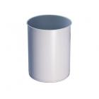 Урна для мусора 12 л АТМА R-LINE, M-812Grey, металл серый, напольная