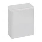 Урна для мусора 6 л Mediclinics NAPKIN PP0006, металл белый, напольно-навесная, крепеж в комплекте