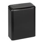 Урна для мусора 6 л Mediclinics NAPKIN PP0006B, металл чёрный, напольно-навесная, крепеж в комплекте