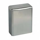 Урна для мусора 6 л Mediclinics NAPKIN PP0006CS, металл сатиновый напольно-навесная, крепеж в комплекте