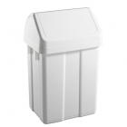 Урна для мусора с поворотной крышкой 50 л TTS MAX 00005060, пластик напольная