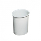 Урна для мусора 6 л Mar Plast ACQUALBA A56501, пластик белый