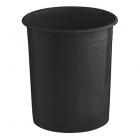 Урна для мусора 6 л Mar Plast ACQUALBA A56503, пластик чёрный