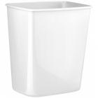 Урна для мусора 8 л Mar Plast ACQUALBA A57901, пластик белый