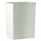 Урна для мусора 42 л Mar Plast ACQUALBA A82001, пластик белый,