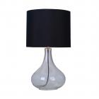 Настольная лампа Zuma Line Ceri RLT94118-1B Черная