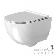 Унитаз подвесной безободковый Rea Carter Rimless REA-C1450 белый