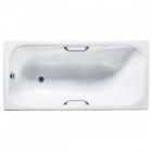 Прямоугольная чугунная ванна с ручками и ножками Universal Ностальжи 150х70 белая эмаль