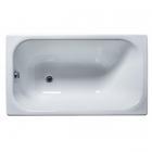 Прямоугольная чугунная ванна с ножками Universal Каприз 120х70 белая эмаль