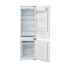 Встраиваемый двухкамерный холодильник с нижней морозильной камерой Fabiano FBF 271 белый