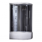Душевой бокс Q-tap SBM12080.2L SAT fabric профиль сатин, стекло фабрик