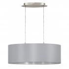 Светильник подвесной Eglo MASERLO 31612, серый