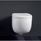 Подвесной безободковый унитаз Nic Design Milk 003 482 001 белый