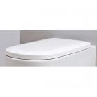Сидение для унитаза softclose Nic Desing Ovvio 005 437 001 белое