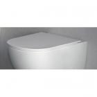 Сидение для унитаза softclose Nic Desing Pin 005 712 003 белое матовое