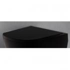 Сидение для унитаза softclose Nic Desing Pin 005 712 013 черное матовое