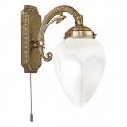 Светильник бра настенный Eglo Imperial 82744 матовое стекло, бронзовый подвесной