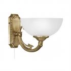 Светильник бра настенный Eglo Savoy 82751 матовое стекло, бронзовый подвесной