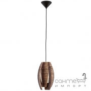 Люстра Eglo Mongu 91008 рогожа, стекло, коричневый