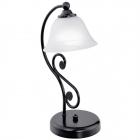 Настольная лампа Eglo Murcia 91007 кантри, прованс, стекло алебастр, сталь
