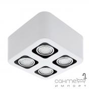 Светильник точечный врезной Eglo Toreno 93013 хай-тек, модерн, сталь, белый, хром
