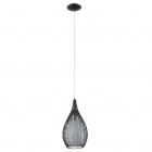 Люстра Eglo Razoni 92252 хай-тек, модерн, матовое стекло, сталь, черный, белый