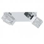 Светильник настенно-потолочный спот Eglo Quarto 92663 сталь, хром