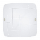 Светильник потолочный Eglo Sabbio 1 92914, хай-тек, модерн, сталь, белый