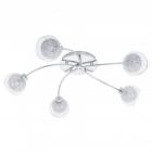 Люстра Eglo Oviedo 93055 хай-тек, модерн, стекло, алюминий, сталь