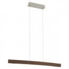 Люстра Eglo Fornes 93343 хай-тек, модерн, сталь, дерево, орех, белый