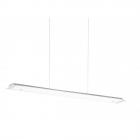 Люстра Eglo Paramo 93353 хай-тек, модерн, сталь, матовое стекло, хром, белый