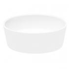 Раковина на столешницу из искусственного камня Besco Uniqa 36x46x17 белая