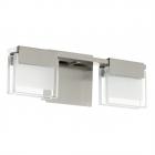 Светильник бра настенный Eglo Clap 1 93733 хай-тек, модерн, сталь, матовое стекло, прозрачный, белый