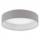 Светильник настенно-потолочный Eglo Palomaro 93949 хай-тек, модерн, ткань, пластик, белый, темно-серый 13,3 W