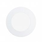 Светильник точечный Eglo Fueva 1 94051 хай-тек, модерн, литой металл, пластик, белый
