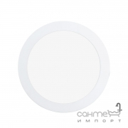 Светильник точечный Eglo Fueva 1 94064 хай-тек, модерн, литой металл, пластик, белый