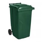 Урна-контейнер для твердых бытовых отходов 120л. АТМА 122064 зеленая