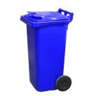 Контейнер для мусора 120л с двумя колесами Jcoplastic J0120 BEBE синий